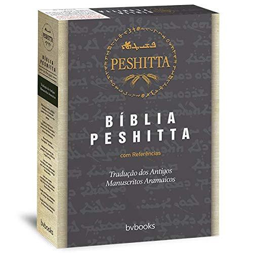 Bíblia Peshitta (Luxo Marrom)  - Universo Bíblico Rs