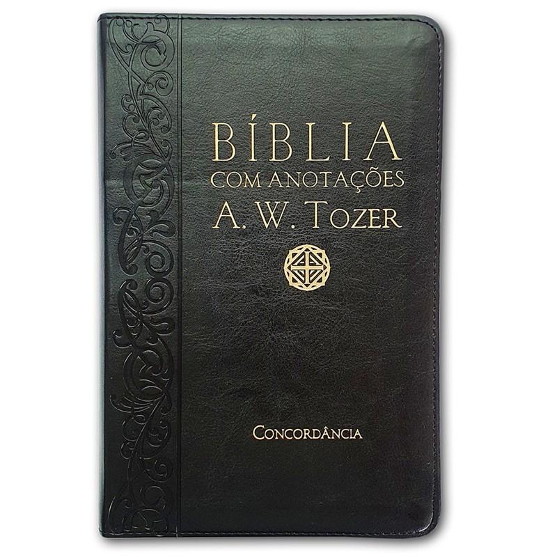 Bíblia Sagrada com Anotações A.W. Tozer | Letra Normal | ARC | Média Luxo