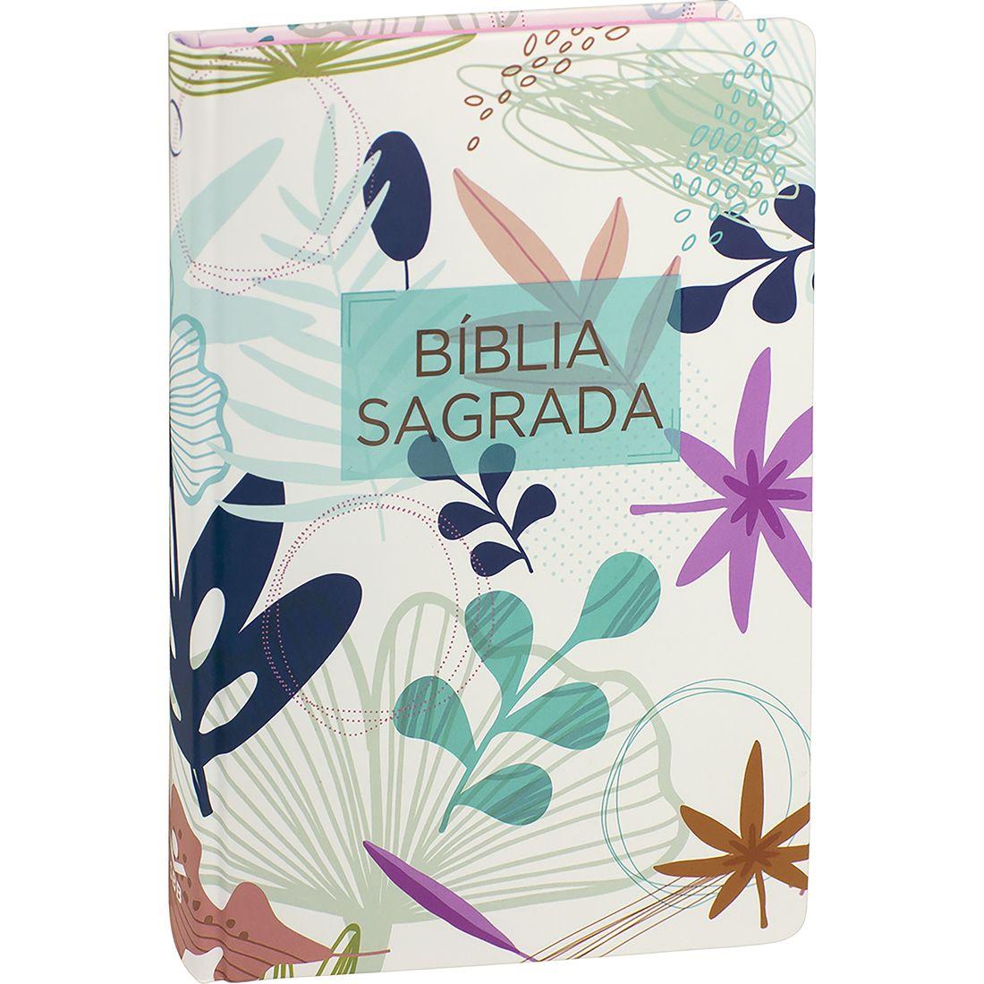 Bíblia Sagrada - Flores I  - Universo Bíblico Rs