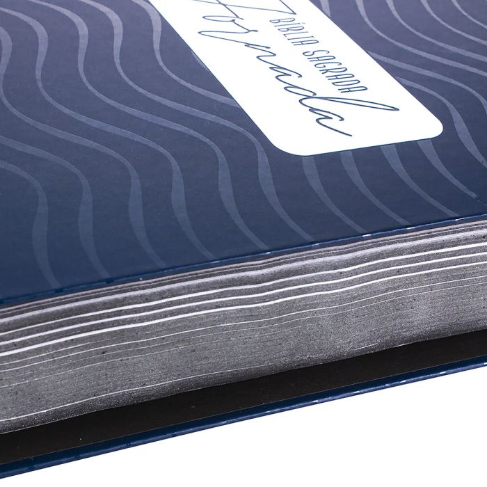 Bíblia Sagrada Jornada - Azul Escuro  - Universo Bíblico Rs