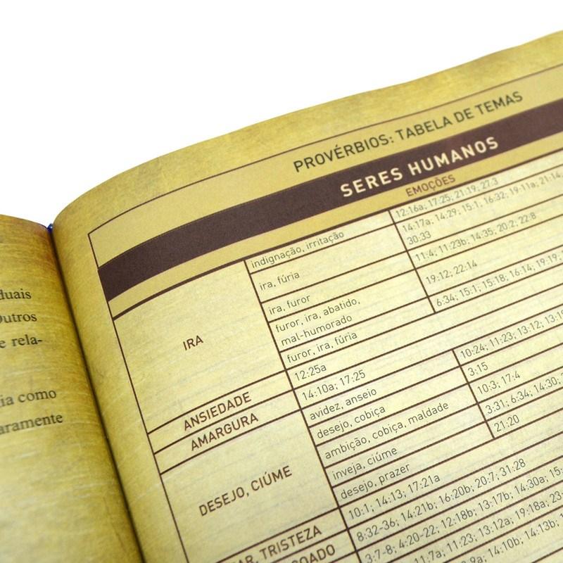 Bíblia Sagrada King James Fiel com Estudo Holman   Letra Grande   Capa Preta (BKJ)  - Universo Bíblico Rs