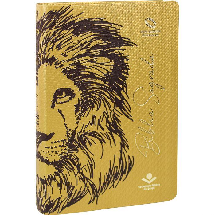 Bíblia Sagrada Leão / Letra Grande - (NAA)  - Universo Bíblico Rs