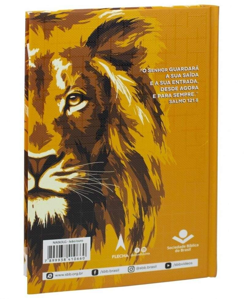 Bíblia Sagrada Leão Dourado  - Universo Bíblico Rs