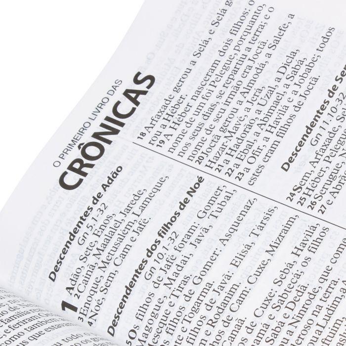 Bíblia Sagrada Letra Extragigante / Preto - (ARA)  - Universo Bíblico Rs