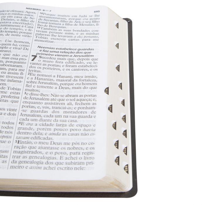 Bíblia Sagrada Letra Extragigante / Preto - (ARC)  - Universo Bíblico Rs