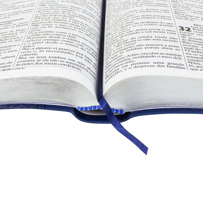 Bíblia Sagrada Letra Gigante / Azul - (ARC)  - Universo Bíblico Rs