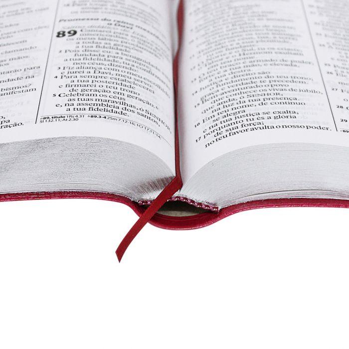 Bíblia Sagrada Letra Gigante / Pink  - (ARA)  - Universo Bíblico Rs