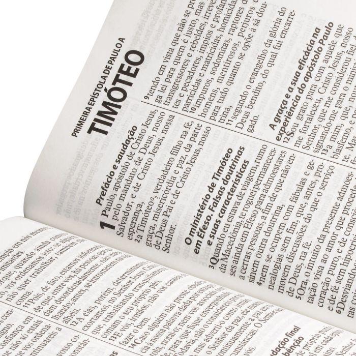 Bíblia Sagrada Letra Gigante / Branco - (ARA)  - Universo Bíblico Rs