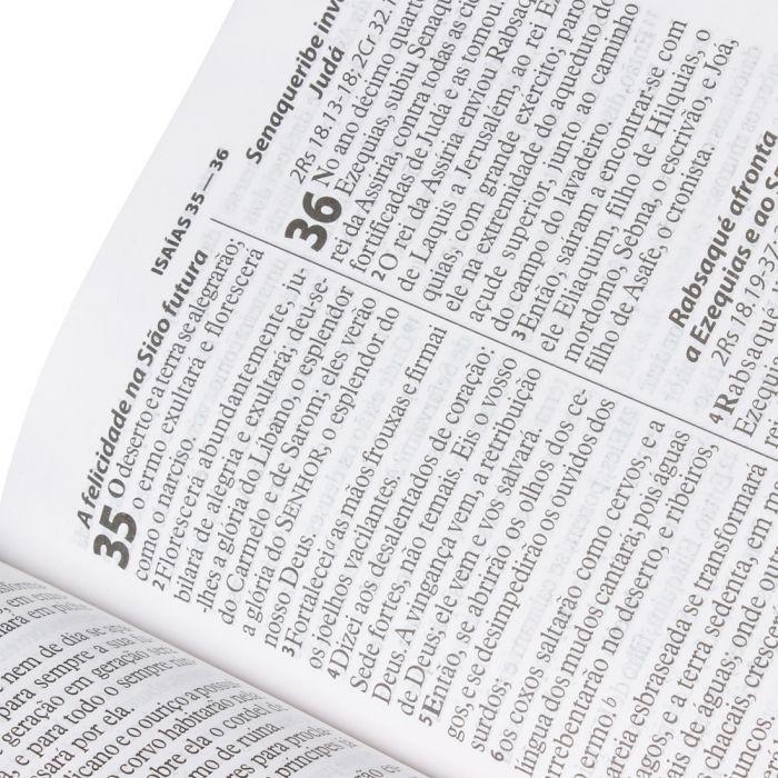 Bíblia Sagrada Letra Gigante / Ros e Pink - (ARA)  - Universo Bíblico Rs