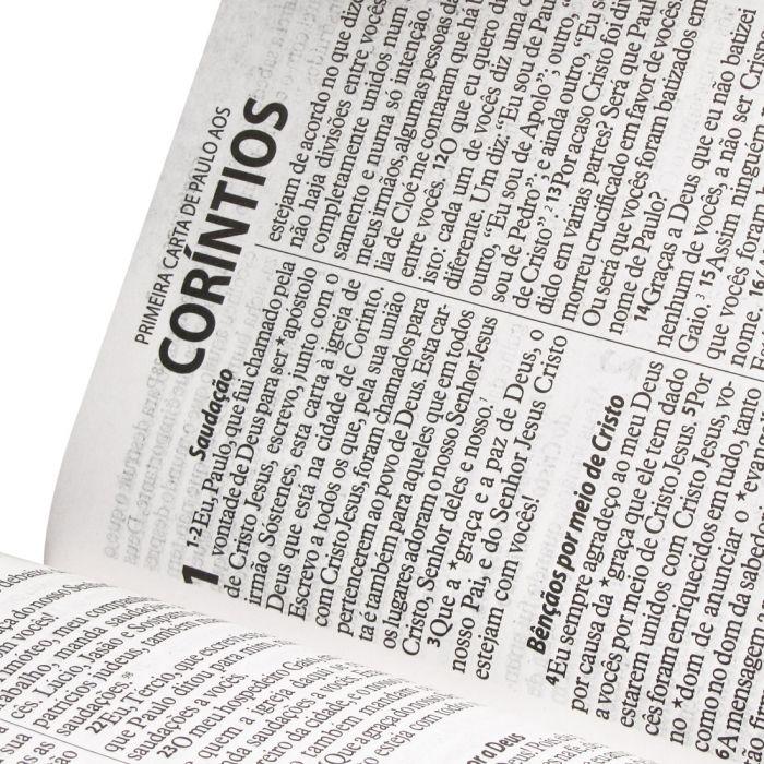 Bíblia Sagrada Letra Gigante / Rosa Claro - (NTLH)  - Universo Bíblico Rs