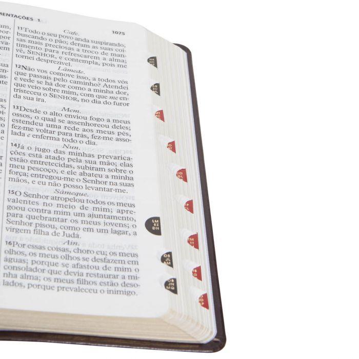 Bíblia Sagrada Letra Gigante / Marrom - (ARC)  - Universo Bíblico Rs