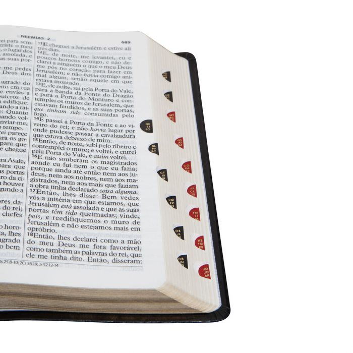 Bíblia Sagrada Letra Gigante / Preto - (ARC)  - Universo Bíblico Rs