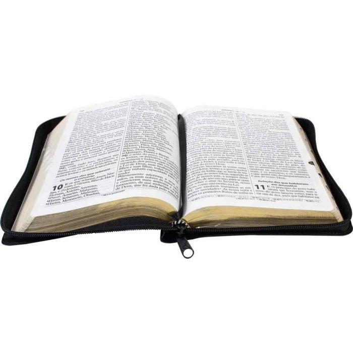 Bíblia Sagrada Letra Gigante / Preto / Ziper - (ARC)  - Universo Bíblico Rs