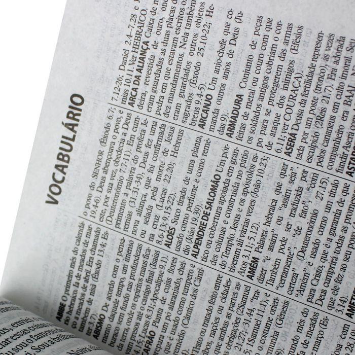 Bíblia Sagrada Letra Gigante / Branco - (NTLH)  - Universo Bíblico Rs