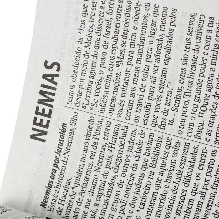 Bíblia Sagrada Letra Gigante / Preto - (NTLH)  - Universo Bíblico Rs
