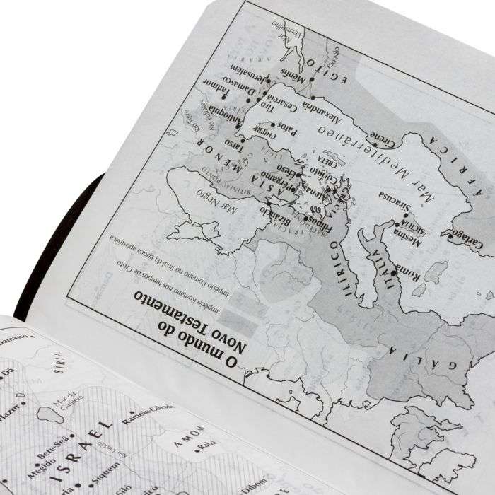 Bíblia Sagrada Letra Grande / Preto - (ARC)  - Universo Bíblico Rs
