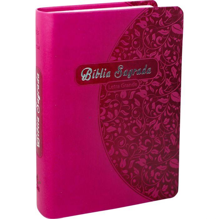 Bíblia Sagrada Letra Grande / Pink - (NTLH)  - Universo Bíblico Rs