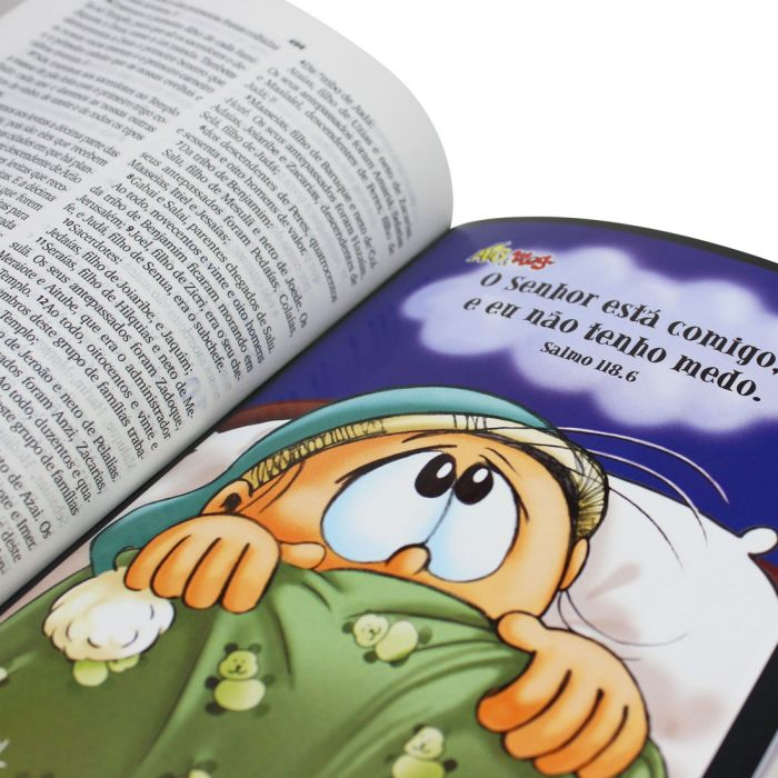 Bíblia Sagrada Mig & Meg  - Universo Bíblico Rs