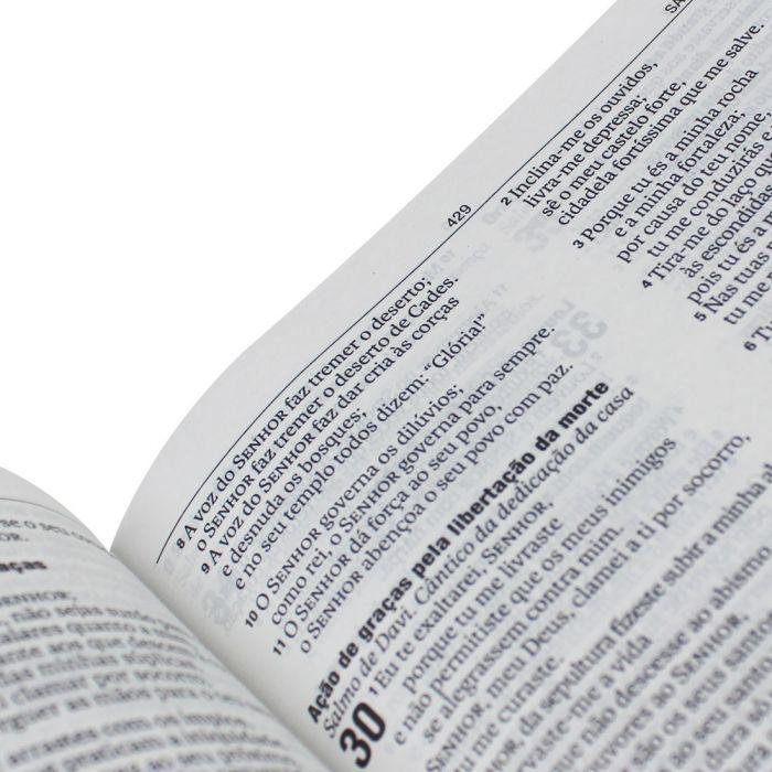 Bíblia Sagrada Slim Rosa Claro - (NAA)  - Universo Bíblico Rs