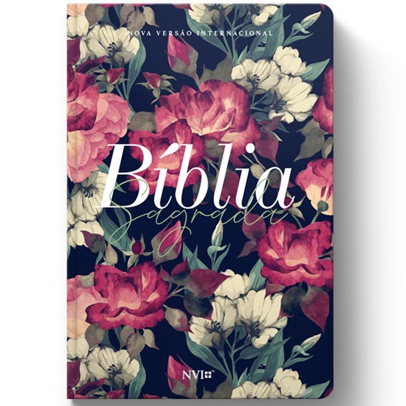 Bíblia Sagrada Slim Jardim   NVI   Letra Maior   Flexível