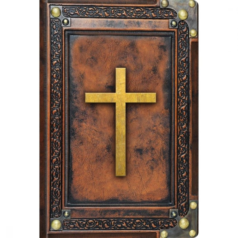 Biblia Sagrada Vintage Marrom   NVI   Letra Normal   Capa Dura Soft-Touch