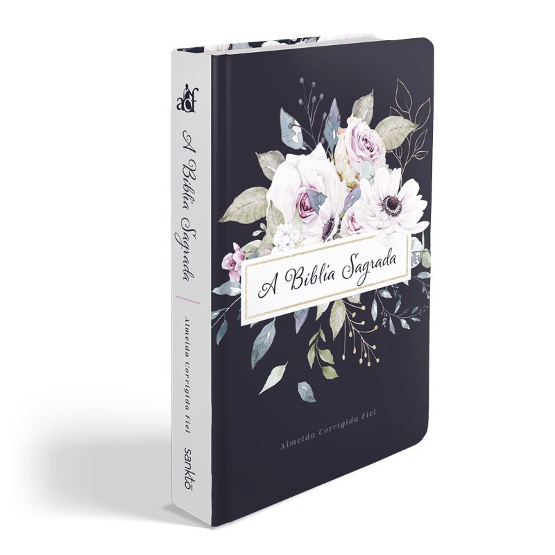 Bíblia Violetas | ACF | Letra Grande | Capa Dura Soft Touch  - Universo Bíblico Rs