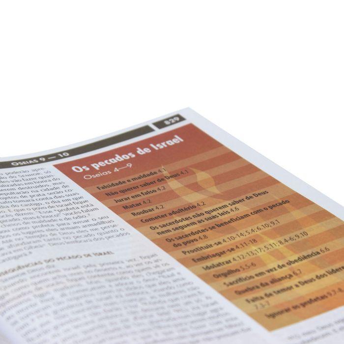 Bíblia Visual com Infográficos  - Universo Bíblico Rs