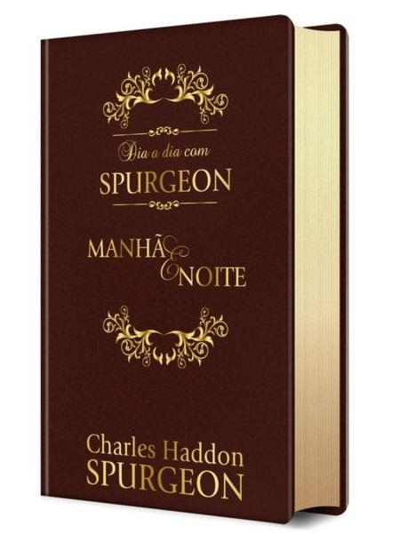 Dia a Dia com Spurgeon   Devocional   Versão Luxo  - Universo Bíblico Rs