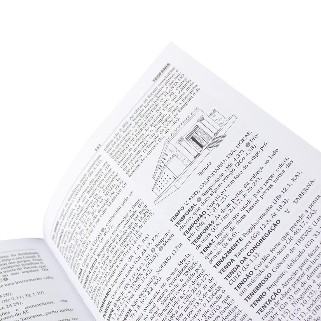 Dicionário da Bíblia de Almeida  2ª Edição: Almeida Revista e Corrigida (ARC) - Edição Acadêmica  - Universo Bíblico Rs