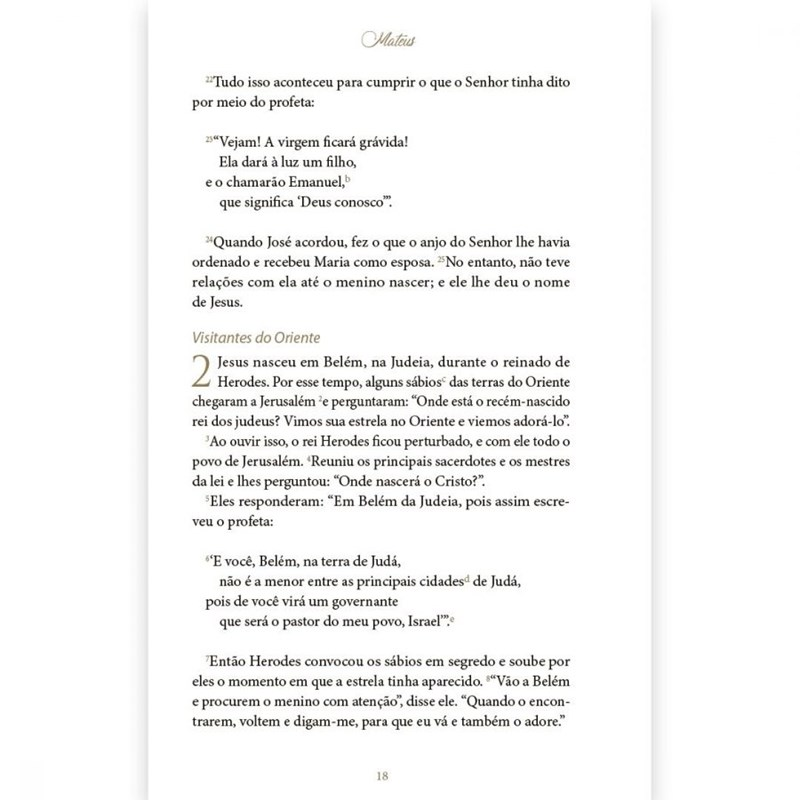 Evangelhos  - Universo Bíblico Rs