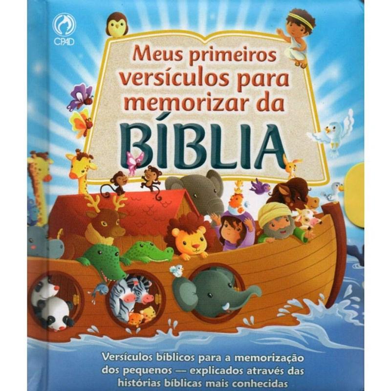 Meus primeiros versículos para Memorizar da Bíblia  - Universo Bíblico Rs
