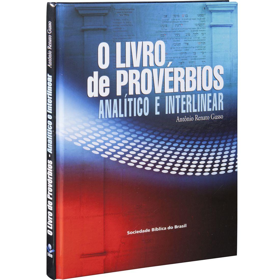 O Livro de Provérbios Analítico e Interlinear