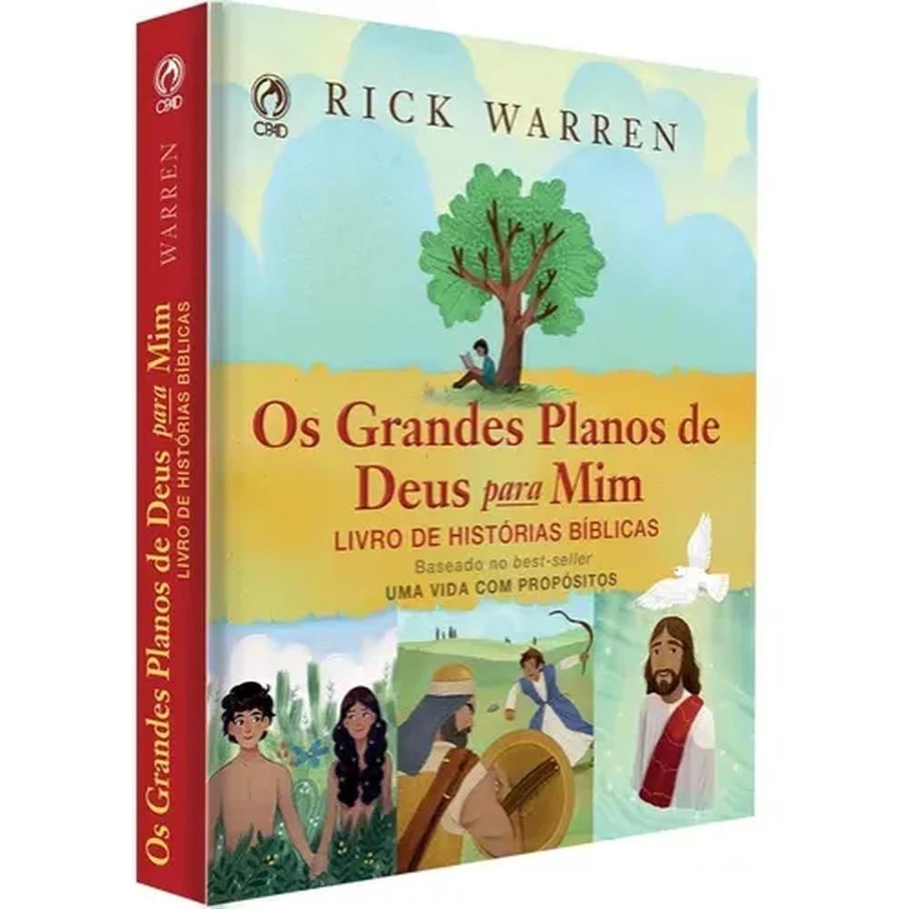 Os Grandes Planos De Deus Para Mim - Rick Warren - Crianças  - Universo Bíblico Rs