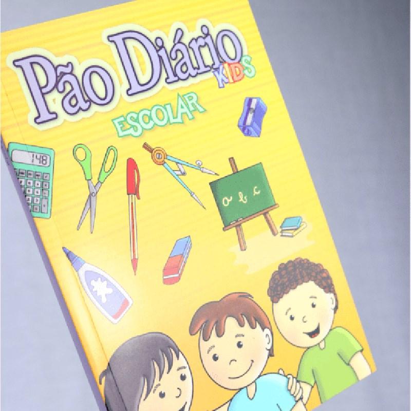 Pão Diário Kids   Material Escolar  - Universo Bíblico Rs