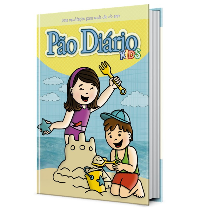 Pão Diário Kids | Novas Aventuras | Capa Dura  - Universo Bíblico Rs