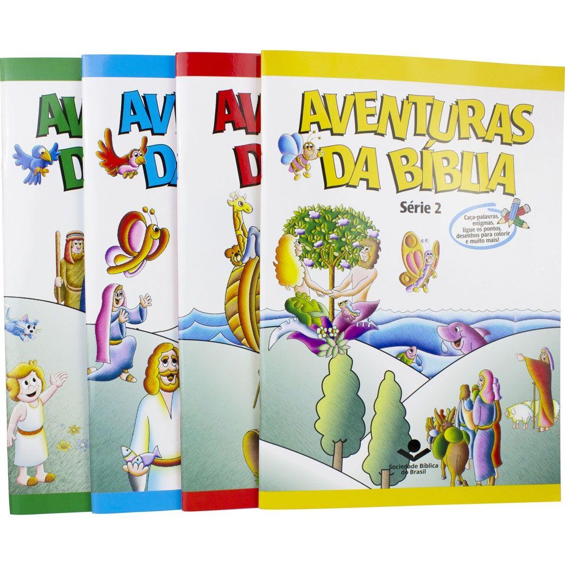 Série 2 - Aventuras da Bíblia  - Universo Bíblico Rs