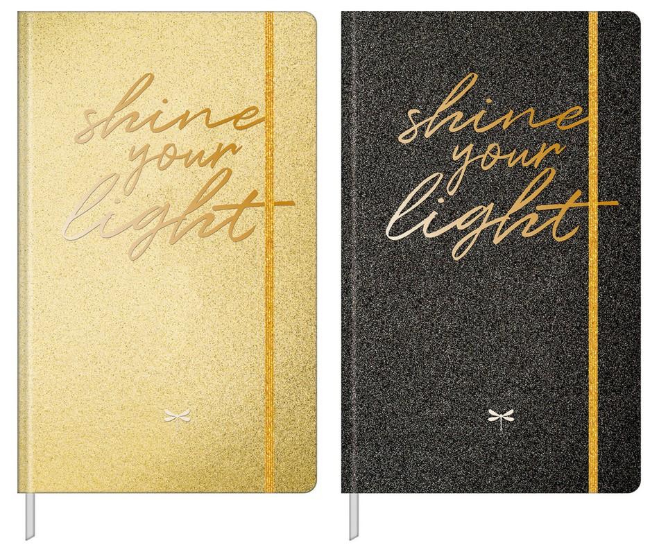 Caderno Cambridge Shine Pontilhado Médio 90g