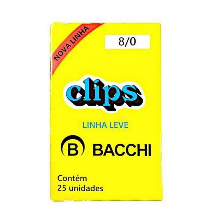 Clip 8/0 Bacchi 25 unidades