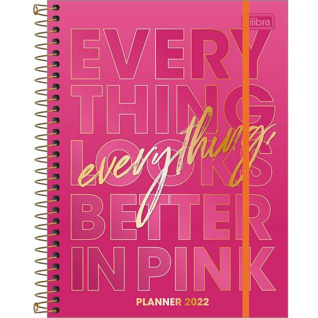 Planner Tilibra Love Pink 2022