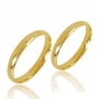 Aliança de Ouro 18k Lisa de 3,0 mm Tradicional - AL30