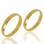 Aliança de Ouro 18k Lisa de 3,0 mm Tradicional - AL30-2