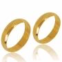Aliança de Ouro 18k Lisa de 4,5 mm - AL450-2