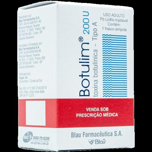 Botulim 200U Toxina Botulínica Tipo A