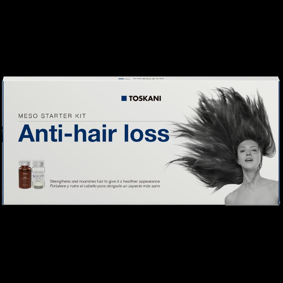 Meso Starter Kit Anti-hair loss - caixa com 5 frascos-ampolas