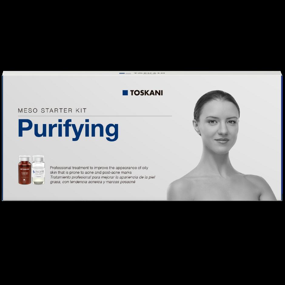 Meso Starter Kit Purifying - caixa com 5 frascos-ampolas