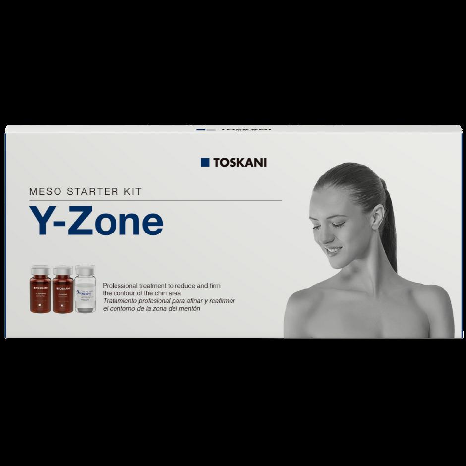 Meso Starter Kit Y Zone - caixa com 5 frascos-ampolas