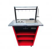 Bancada Profissional Advance Two - Black / Red