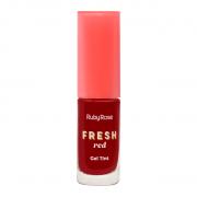 Lip Tint Gel Fresh Red Ruby Rose