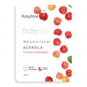 Máscara Facial Acerola Ruby Rose