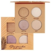 Paleta de Iluminador Glow Your Skin From Within Dark Highlight Palette 4 Cores Ruby Rose